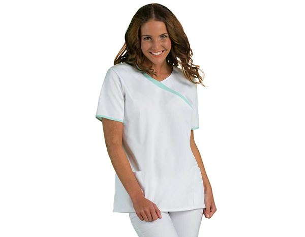 Shirts, Pullover & more: Tunic Maren + white/mint green
