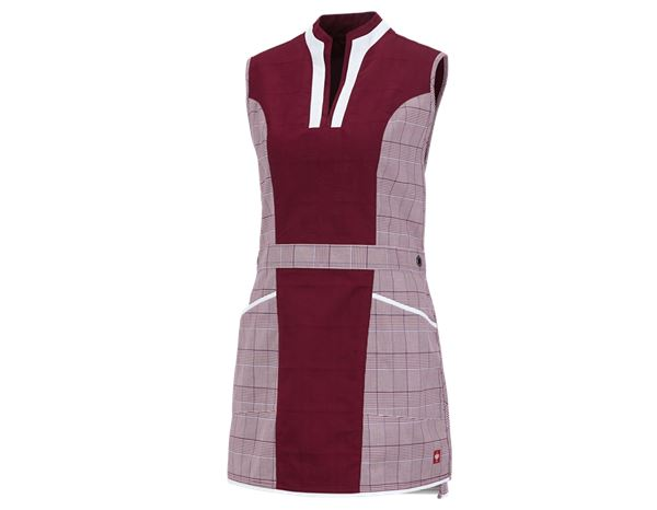 Aprons: Tabard e.s.fusion + ruby-ruby/white/navy