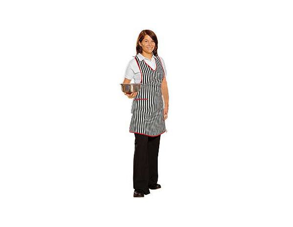 Catering Aprons: Apron Bärbel + black/white/red