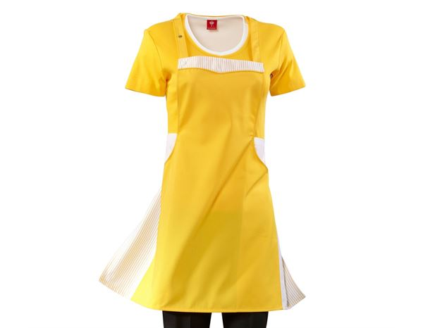 Shirts, Pullover & more: Bib Apron Lotte + yellow/white