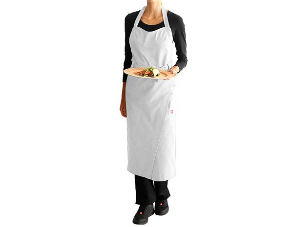 Shirts, Pullover & more: Bib Apron e.s.fusion, ladies' + white