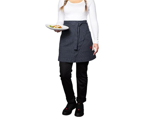 Shirts, Pullover & more: Mid-Length Apron stripe e.s.fusion, ladies' + blue/white