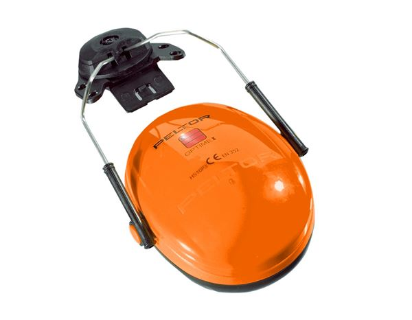 Ear Defenders: 3M Peltor Hearing protectors for helmet Optime I + orange
