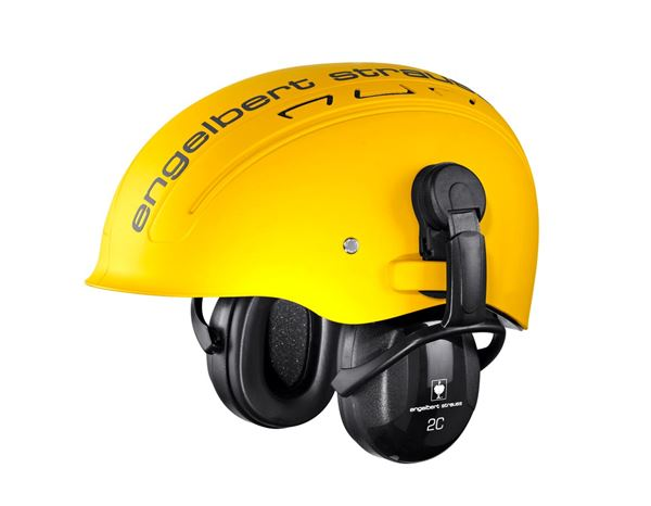 Ear Defenders: e.s. Protector cups for attachm. to the helmet 2C 1
