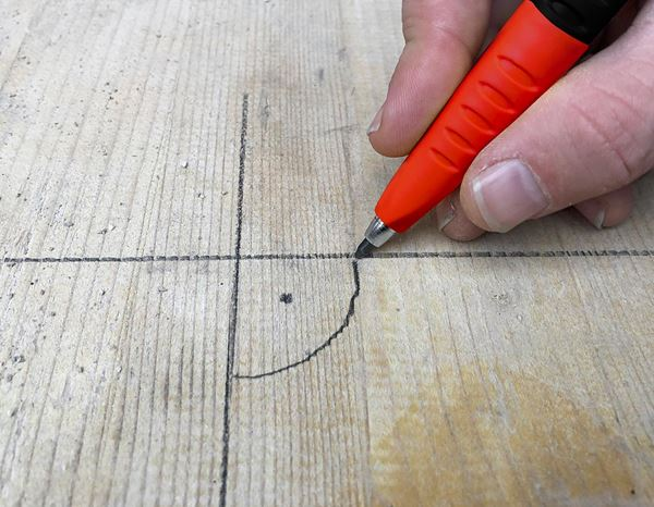 Marking tools: e.s. Deep-hole marker 2 in 1 1