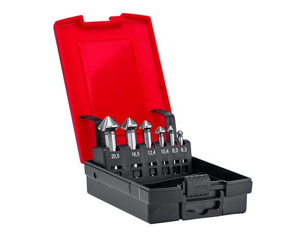 Drill Bits: e.s. Counter sink set HSS ultimate