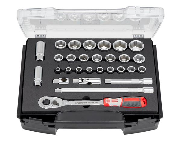 Tool Cases: e.s. Socket wrench set pro 1/2 in e.s. i-Boxx 72