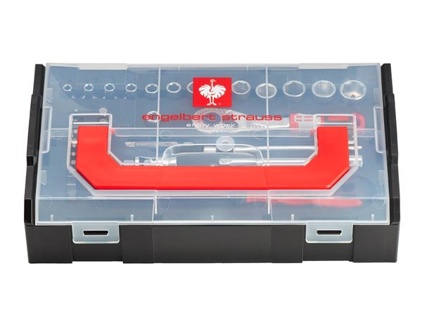 Tool Cases: e.s. Socket wrench set pro 1/4 in e.s. Boxx mini 2