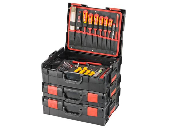 Tool Cases: e.s. Boxx socket wrench set Electro pro III