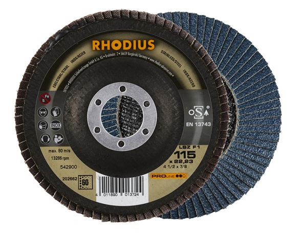 Cutting- / Sanding Discs: Flap discs for stainless steel / steel INOX 1