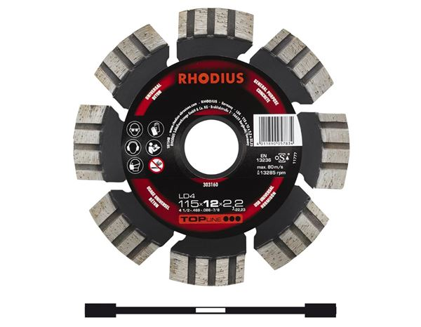 Cutting discs: Diamond-Cut-Off-Wheel for stone processing