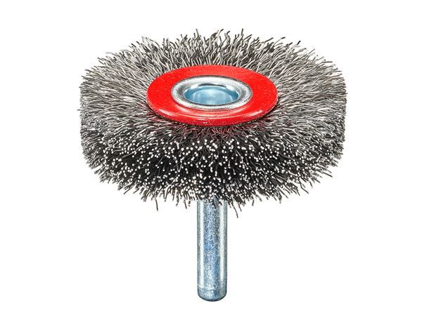 Sanding tools: Wire Wheel Brush with arbor