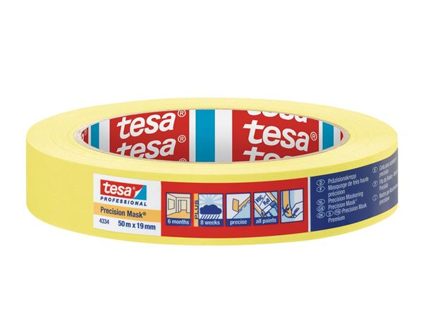 Plastic bands | crepe bands: tesa Precision Mask 4334 Plus 4