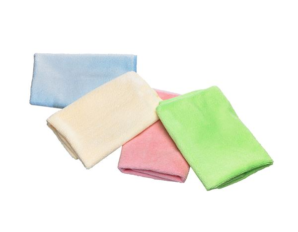 Cloths: Microfibre cloths SOFT WISH + yellow 1