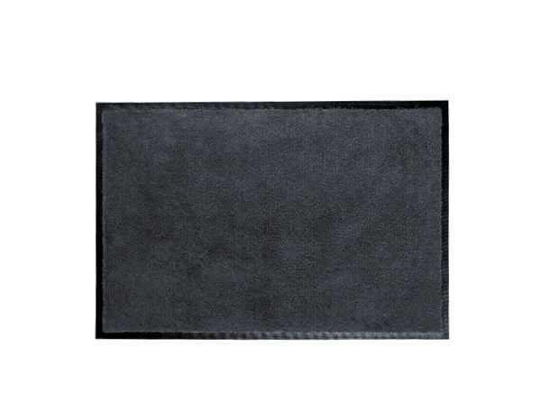 Entrancemats: Comfort mats with rubber edge + anthracite