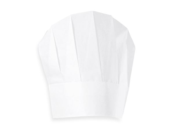 Disposable Clothing: Disposable Chefs Hats