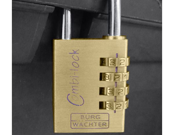 Tools & Accessories: Burg-Wächter security combination lock 1