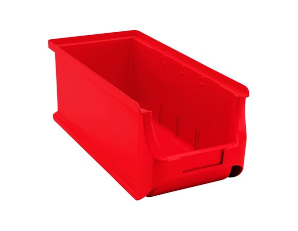 Sorting: Open storage box 3L 315x145x125mm + red