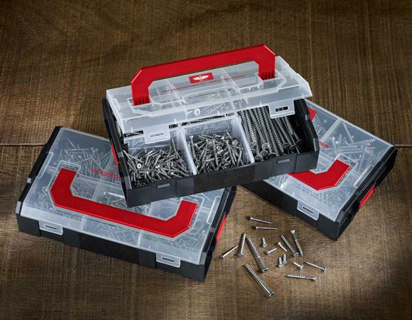 System boxes: Fillister head screws, DIN 7985, 900 pieces 3