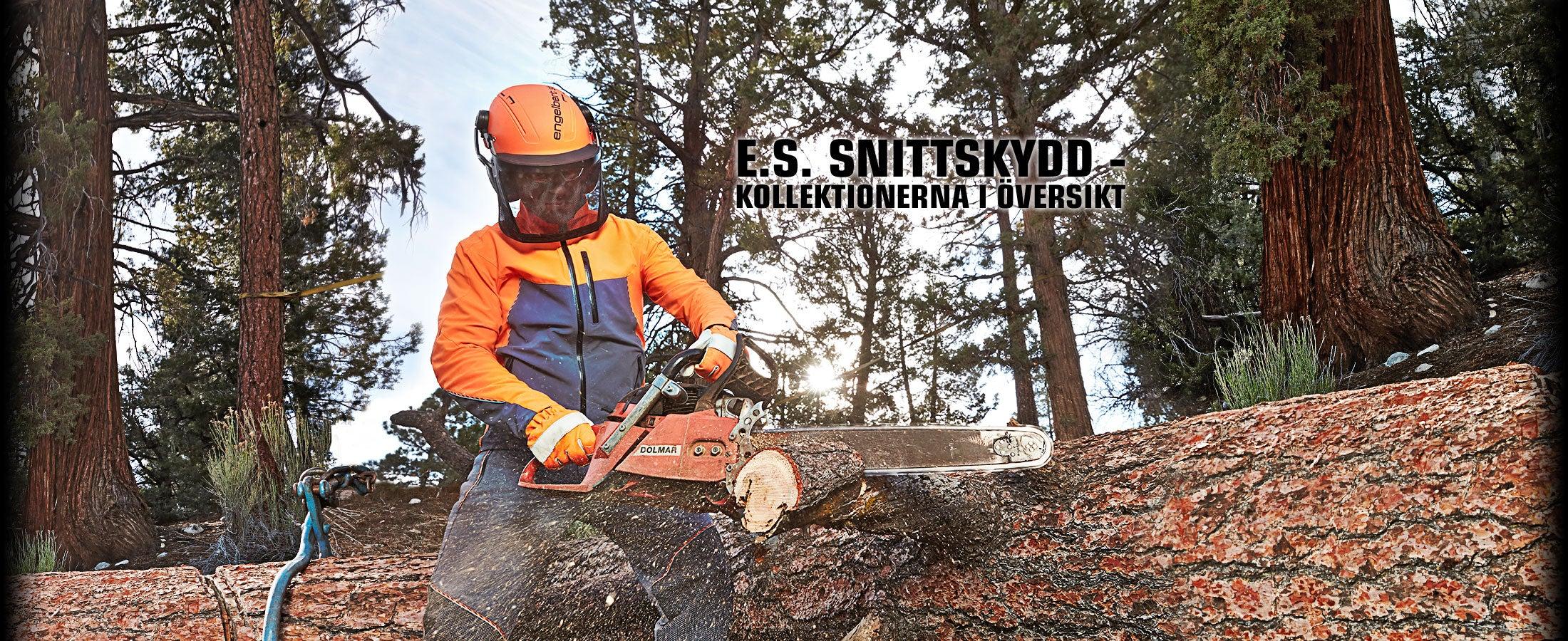 engelbert strauss snittskyddsbyxor för skogsbruk enligt EN 381-5 samt KWF  Profi-testade 90e2b610b4275